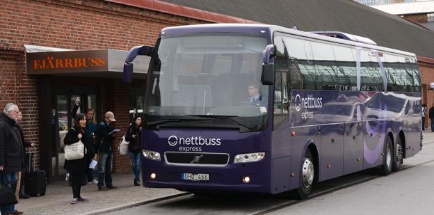 De båda varumärkena inom Nettbuss Express AB få höga betyg när det gäller kundnöjdhet i Svenskt Kvalitetsindex´ mätningar.  Foto: Ulo Maasing.