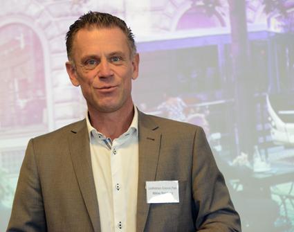 Niklas Wahlberg, vd Lindholmen AB: Bullerfrågan är viktig. Även spårvagnar bullrar. Foto: Ulo Maasing.