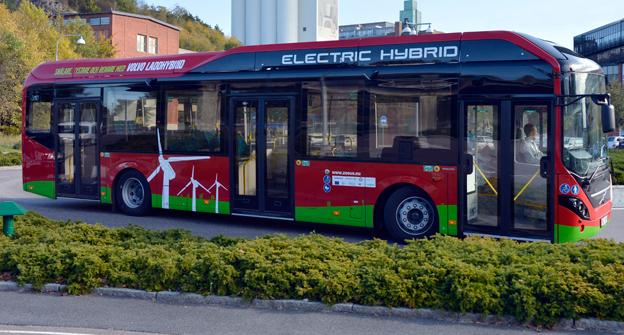 Volvo toppade nyregistreringarna av bussar i oktober. Foto: Volvo Bussar.