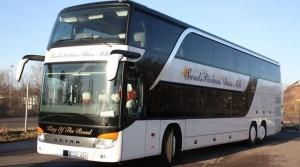 Ekonomin hos Hyllinge Buss var värre än väntat. Men nu är den sanerad. Xundspärlans Buss. Bild: Sundspärlans Buss.