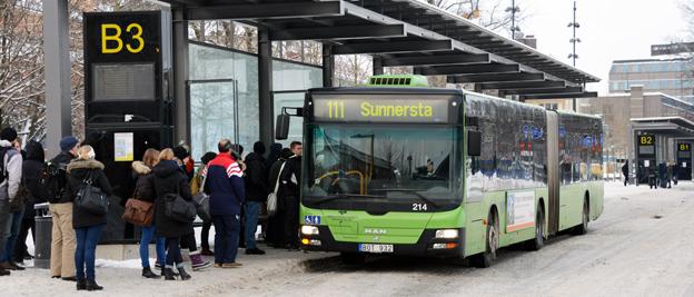 När Upplands Lokaltrafik införde nya biljettpriser rasade intäkterna. Foto: Ulo Maasing.