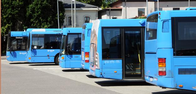 Varken bussbolag eller kollektivtrafikmyndighet är mogna för kommersiell kollektivtrafik, heter det i en rapport från Västra Götalandsregionen. Foto: Ulo Maasing.