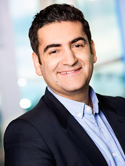 Fahrhad Kakavand, mässansvarig för TUR. Foto: TUR.