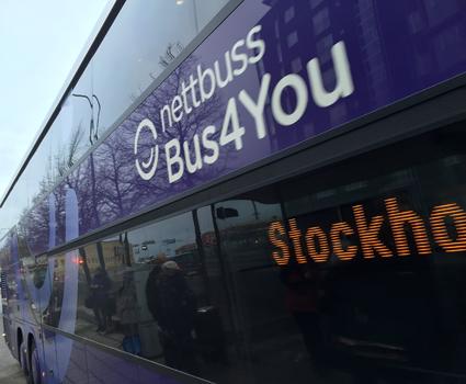 Bus4You börjar med trafik mellan Västerås och Arlanda och erbjuder därmed en rad städer ny bussförbindelse till flygplatsen. Foto: Ulo Maasing.