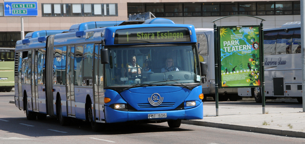 Stomlinje 1 i Stockholm blir snabbare i höst. Foto: Ulo Maasing.