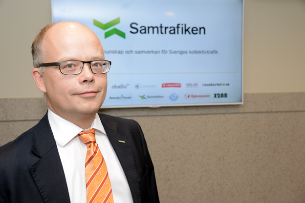 Gerhard Wennerström, vd Samtrafiken: Med det nya avtalet vill vi skapa en samarbetsrena för utveckling i branschen. Foto: Ulo Maasing.