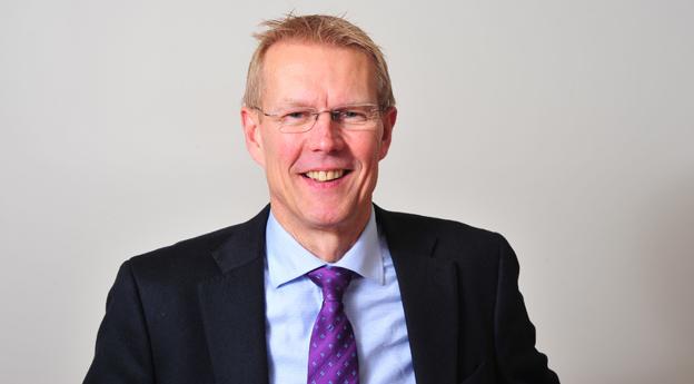 Johan Regefalk, ny vd för tillbehörsföretaget KGK.