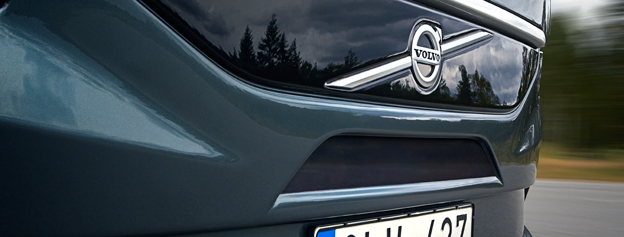 Volvo räknade in 25 nyregistrerade tunga bussar under december. Foto: Volvo Bussar.