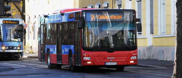 Kollektivtrafiken i Oslo måste få ett tillskott på 30 miljarder kronor om man ska klara de trafikpolitiska målen. Foto: Ulo MAasing.