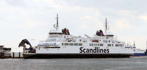 Scandlines planerar att gå över från dieseldrift till batteridrift på sina färjor över Öresund. Foto: Ulo Maasing.