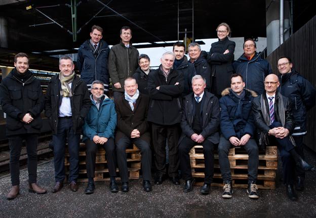 Keolis bygger nu upp ett affärsområde i Sverige för spårtrafik. Här är Keolis spårexperter. Foto: Keolis.