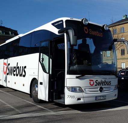 Swebus satsar på gratis transferbussar till fackmässor för konferens- och eventnäringen.