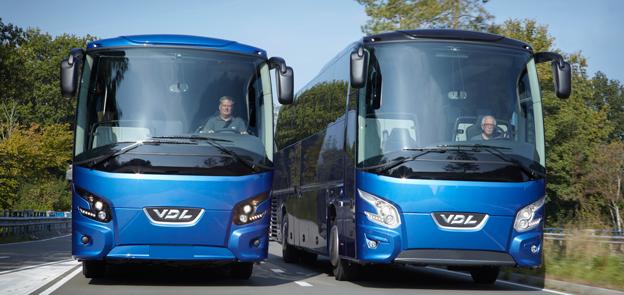 VDL blev näst största bussmärke i Sverige i december. Foto: VDL.