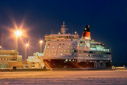 Viking Line satte passagerarrekord år 2014. Foto: Viking Line.