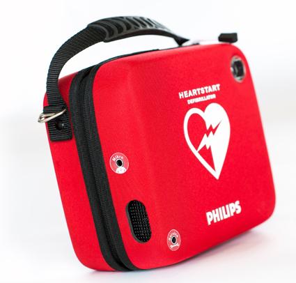 VDL bussar kan nu fås med Philips hjärtstartare.