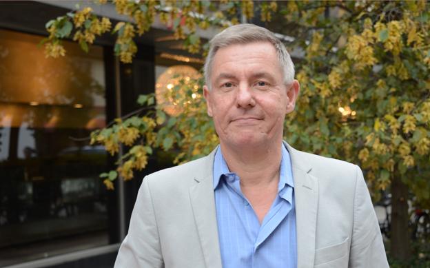 Lars Annerberg, Sveriges Bussföretag: Ingen skattehöjning på HVO 2016. Foto: Ulo Maasing.