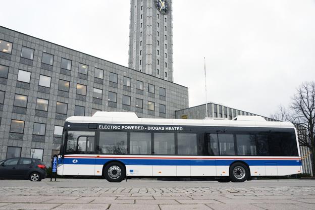 Bussresandet i Västerås har ökat kraftigt. Foto: Ulo MAasing.