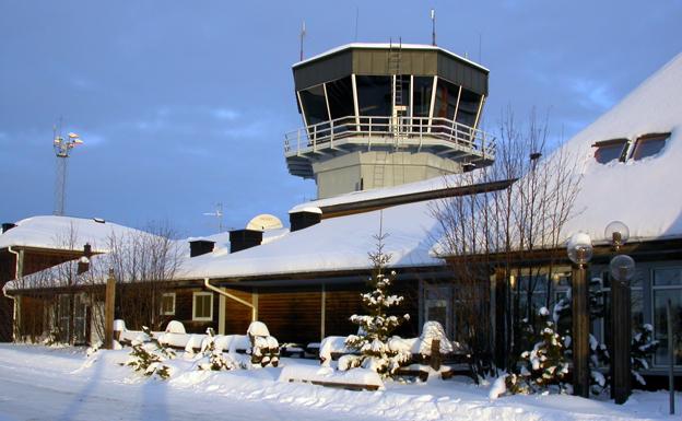 Flygplatsen i Arvidsjaur får markförbindelse till Sorsele efter ett nytt initiativ. Foto: Lrs1572/Wikimedia Commons.