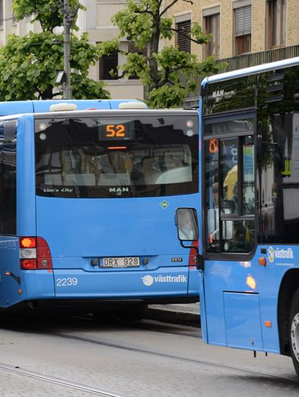 En besiktningsstation i Partille har släppt igenom över hundra bussar i besiktningen utan att provköra dem. Arkivbild: Ulo Maasing.