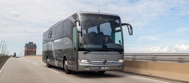Daimler Buses redovisar en kraftig resultatförbättring för år 2014. Foto: Daimler Buses.