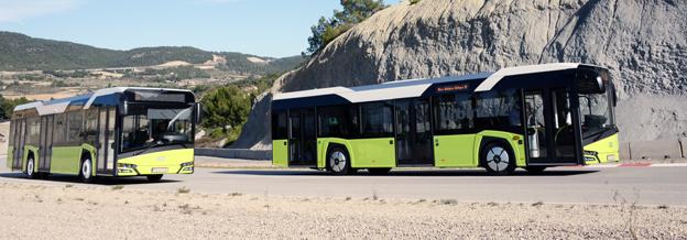 Solaris har fått ett prestigefyllt designpris för sin nya Solaris Urbino stadsbuss. Foto: Ulo Maasing.