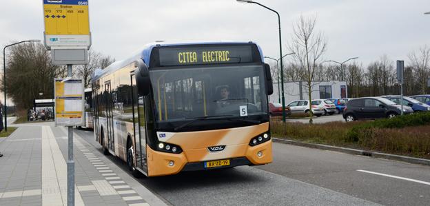 Mer el krävs i den tunga trfiken, anser Trnsportstyrelsen. Bilden visar VDL:s stadsbuss Citea i elversion. Foto: Ulo Maasing.