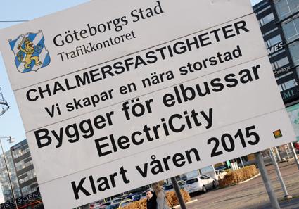 I sommar börjar trafiken i det ambitiösa ElectriCityprojektet i Göteborg. Foto: Ulo Maasing.
