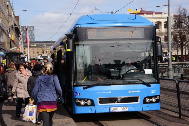 Företagskort har blivit en stor framgång för Västtrafik. Foto: Ulo Maasing.