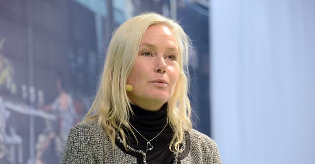 Infrastrukturminister Anna Johansson(S) vill ändra kollektivtrafiklagen. Foto: Ulo Maasing.