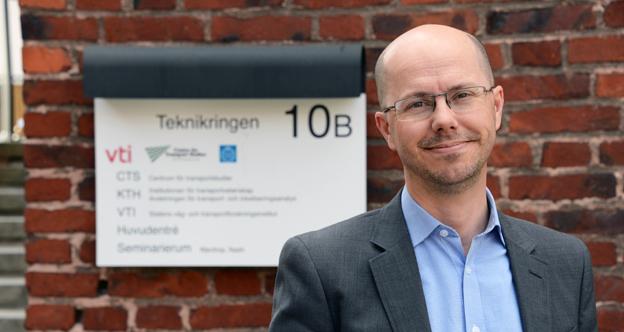 """Professor Jonas Eliasson, KTH: """"Jag är förbluffad"""". Foto: Ulo Maasing."""