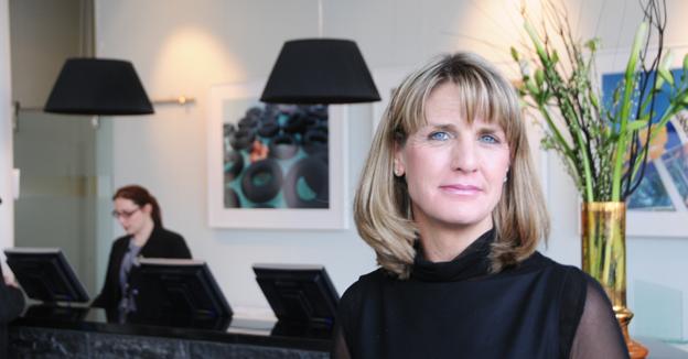 Katlin Paldeak, operativ direktör för Nordic Choice Hotels, utsågs till Årets Chef i Resebranschen när pristagarna i Grand Travel Award avslöjades på onsdagskvällen. Foto: Ulo Maasing.