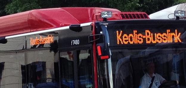 Keolis får förlängt avtal i Storstockholm för 570 bussar. Foto: Ulo Maasing.