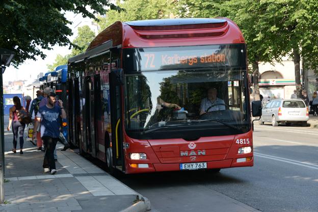 Stora nerdragningar hotar busstrafiken i Storstockholm. Foto: Ulo Maasing.