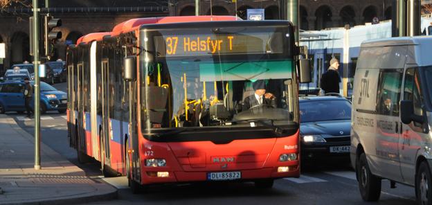 Kollektivtrafiken i Norge ska vara fossilfri senast 2025. I Oslo är målet fossilfritt senast 2020. Foto: Ulo Maasing.