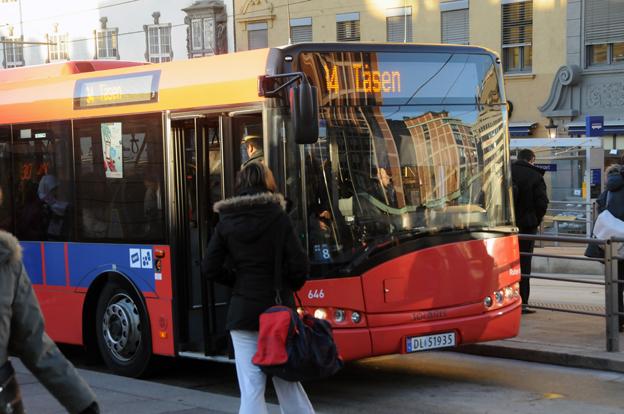 Det är dags att överväga trängselavgifter i kollektivtrafiken, anser fyra norska myndigheter. Foto: Ulo Maasing.