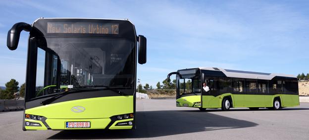 Solaris räknar med att i år producera 300 exemplar av nya Urbino. Man kommer också att lansera en ny midibuss med premiär på BusWorld i Kortrijk. Foto: Ulo Maasing.