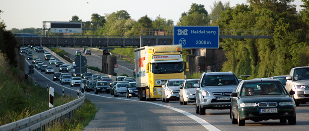 Värre än någonsin. Aldrig har det varit så mycket Stau på Autobahn som i fjol. Foto: Wikimedia Commons/Zwiadowca21.