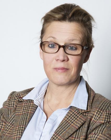Suss Forssman Thullberg, kommunikationschef vid Trafikförvaltningen vid Stockholms läns landsting. Foto: Andreas Lundberg.