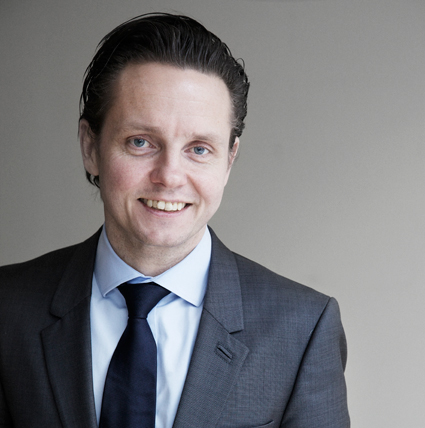 Thomas Andersson, ny vd för Stockholm Visitors Board.