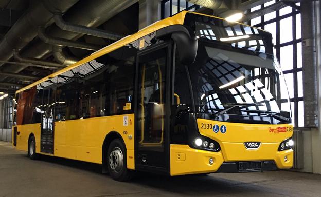 Lokaltrafiken i Berlin, BVG, har beställ 236 VDL Citea. I dagarna sätts de första 40 bussarna i trafik. Foto: VDL.