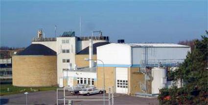 Biogasanläggningen i Kalmar. Foto: Kalmar kommun.