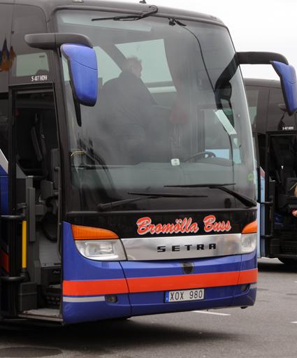 Får böta för att ha flyttat buss i verkstad och garage. Arkivbild: Ulo Maasing.