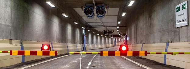 I helgen kommer Norra Länken i Stockholm att stängas av helt. Det kommer att leda till mycket besvärliga trafikförhållanden i norra Storstockholm, varnar Trafikverket. Foto: Trafikverket.