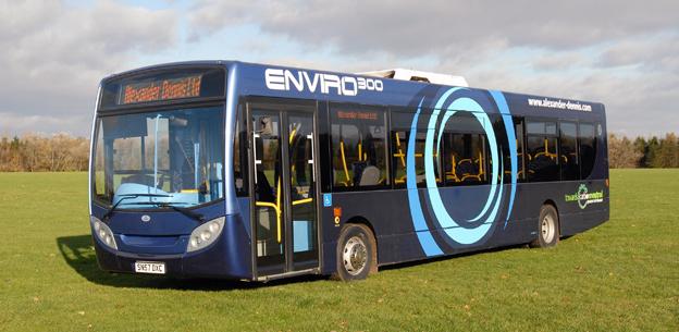ADL Enviro 300. I Stagecoach storbeställning av nya bussar ingår modellen med 89 exemplar. Foto: ADL.