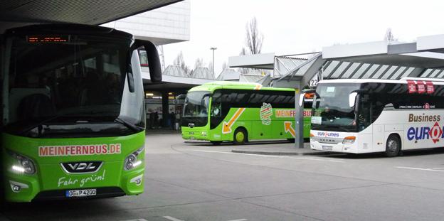 Den snabba tillväxten inom expressbusstrafiken har blivit en humörhöjare för tysk bussbransch. Foto: Ulo Maasing.
