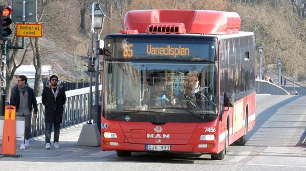Bara i landets tre största städer finns det ineffektivitet i kollektivtrafiken för en miljard, hävdas det på ett av seminarierna i Almedalen. Foto: Ulo Maasing.