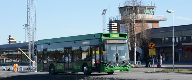 Umeå, som gör en storsatsning på elbussar i stadstrafiken, föreslås av Trafikverket få statlig medfinansiering. Foto: Ulo Maasing.