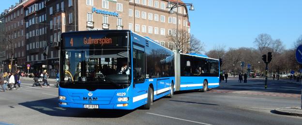 Hela busstrafiken i Storstockholm ska ses över i SL:s jakt på en extra miljard nästa år. Foto: Ulo Maasing.