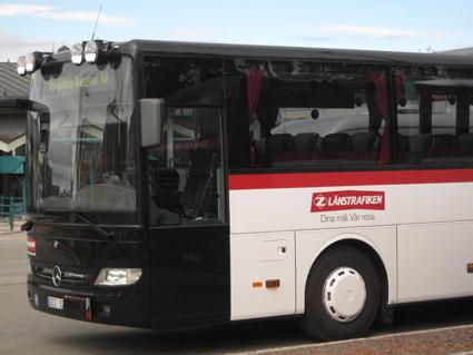 Östersund bjuder alla ungdomar på fria bussresor tio månader om året, både med Länstrafiken och Stadsbussarna. Foto: Ulo Maasing.