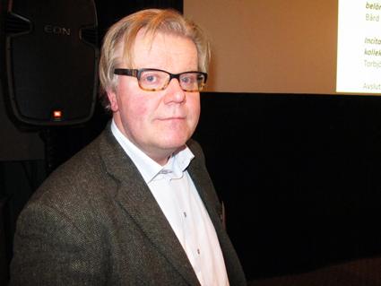 Torbjörn Eriksson, Urtbanet Analys, medverkar i ett av Sveriges Bussföretags seminarier i Almedalen…